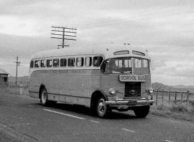 1953 Doyles of Taumaranui Diamond T EH4316. Photo Graeme Bennett