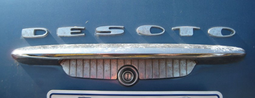 1954 desoto trunk