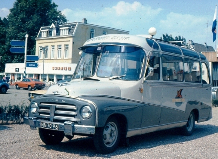 1954 Opel Blitz carr. Domburg NN-70-96