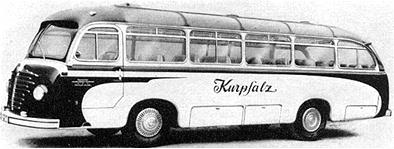 1955 Drögmöller Büssing 4500 T