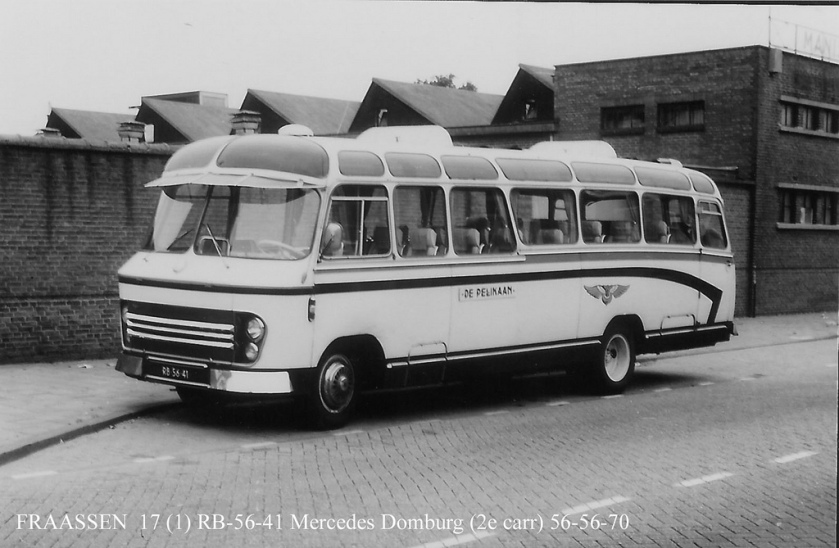 1958 Domburg Mercedes Benz 1