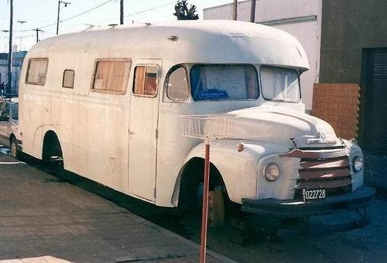 1961 El Condor bedford camper