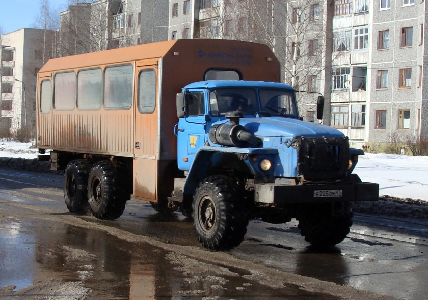 1962 Desoto Off-road bus, Koryazhma