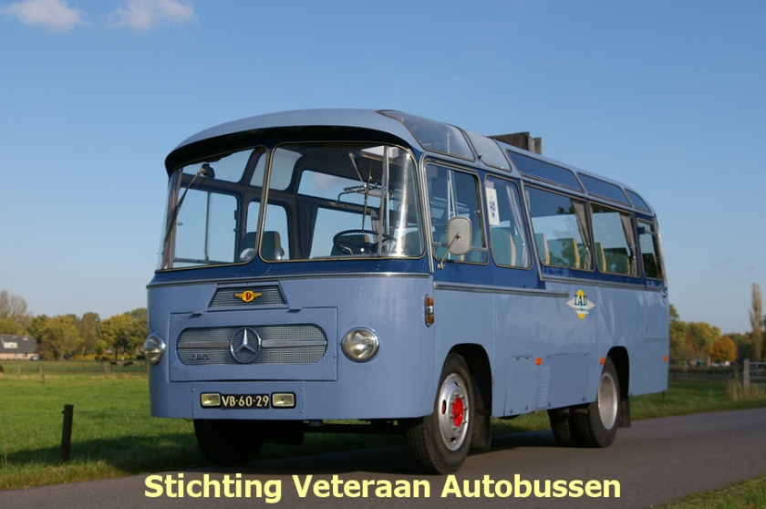 1963 Mercedes Benz Domburg TAD