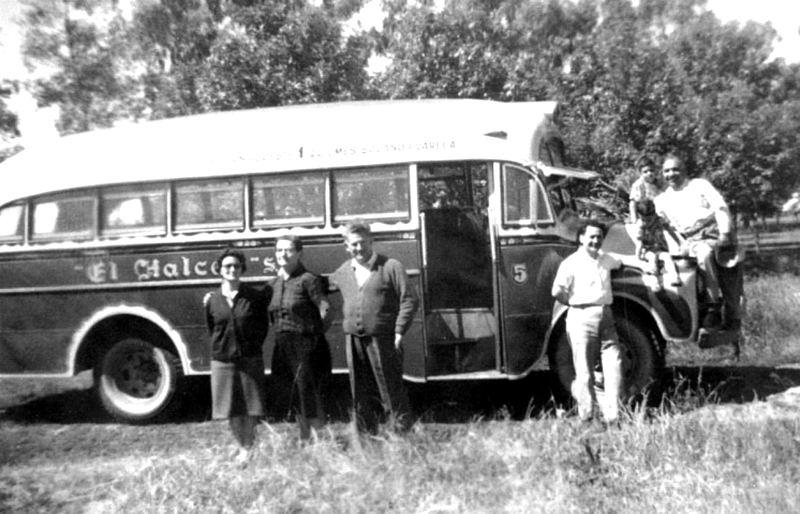 1964 Bedford – Agosti – El Halcón