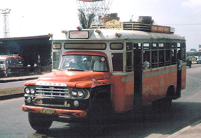 1965 Fargo Desoto Thai Bus Bangkok