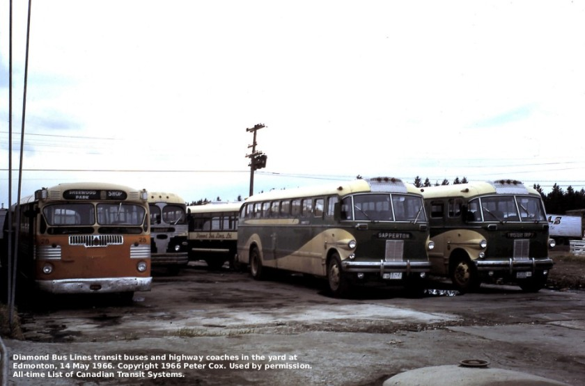 1966 Diamond T sherwood park-DLtwin+cancars-cox1966may14