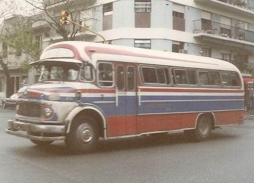 1974 El Condor carrozados sobre Mercedes Benz LO-1114