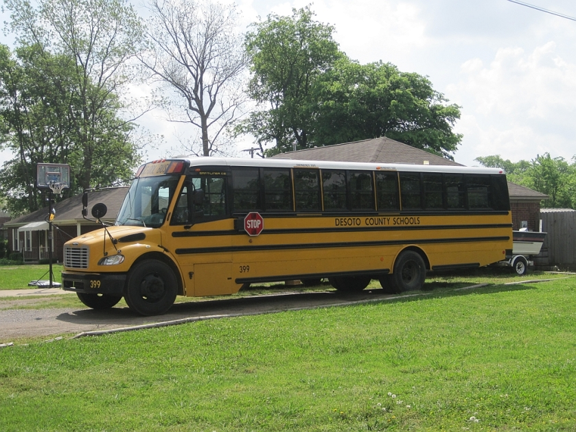 2012 DeSoto County MS school bus