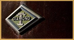 47L DIAMOND T LOGO ROUILLÉ OK