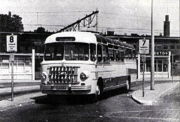 Bussen DAF B1500 DL 580 carr ECF nr 21 1956