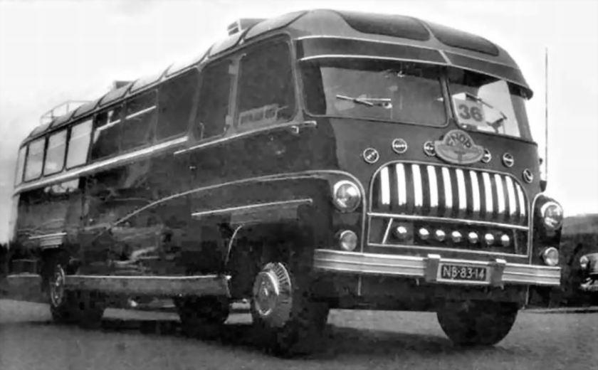 Bussen DAF B1527R58 Edesche Carrosseriefabriek Gebr. Van Eerten [1952] NB-83-14