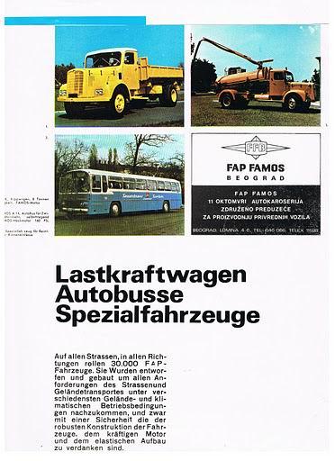 Bussen FAP SAMOS Beograd