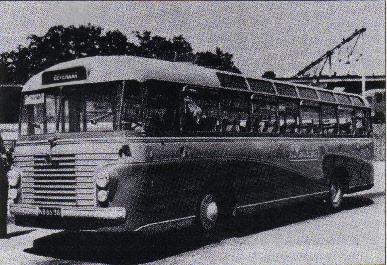 Bussen VOLVO B61515 VOLVO carr ECF nr 18 1961