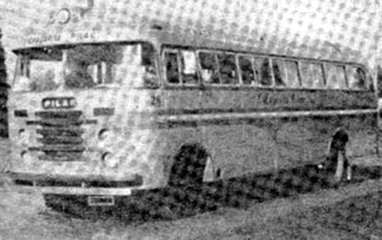 condor sobre chasis DAF