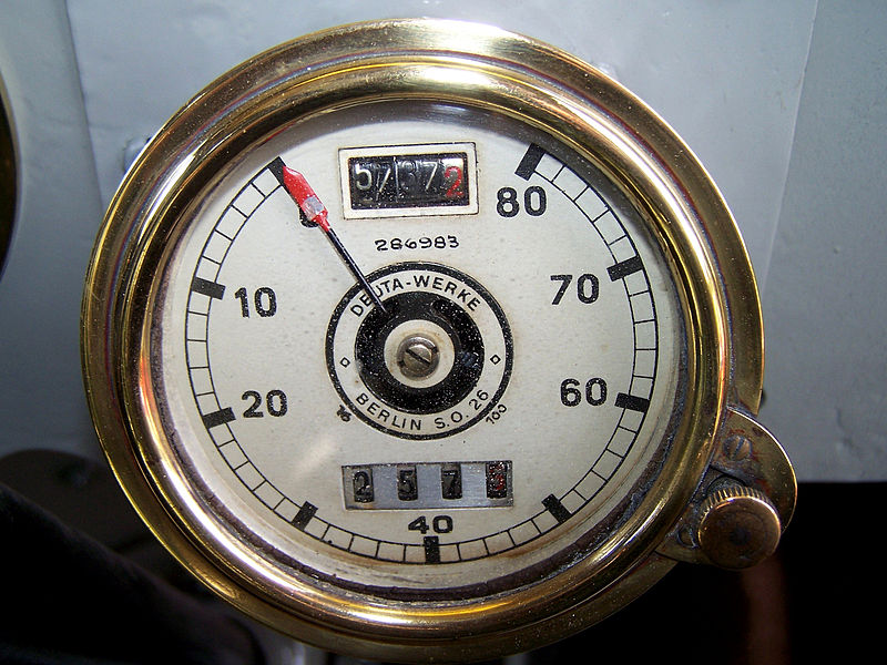 DAAG Postbus Deuta-Tachometer
