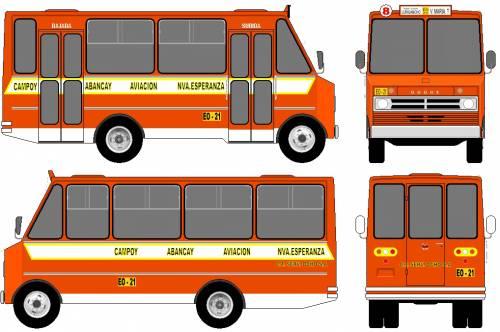 Dodge D400 Bus (1977)