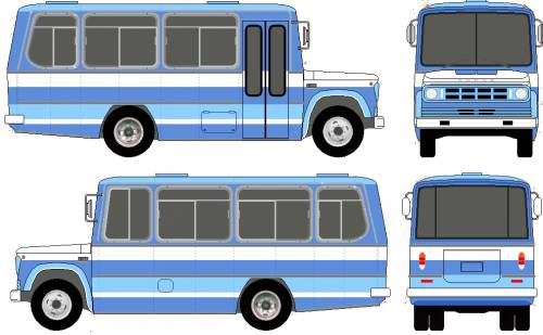 Dodge D400 Bus (1978)