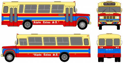 Dodge D700 Bus (1976)