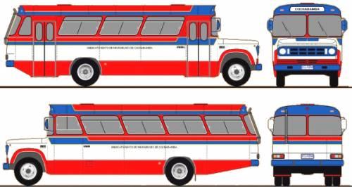 Dodge D700 Bus (1980)