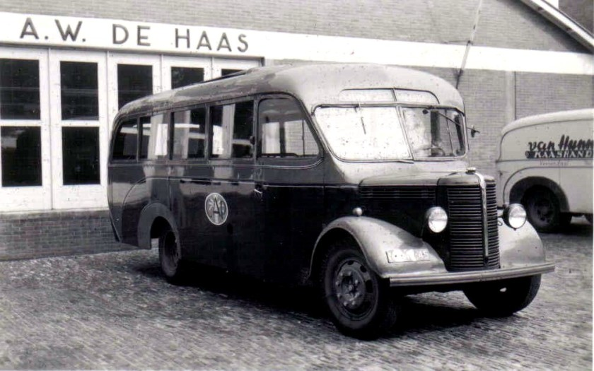 Dodge De Haas 9 Neusbus Edesche Carr Fabriek