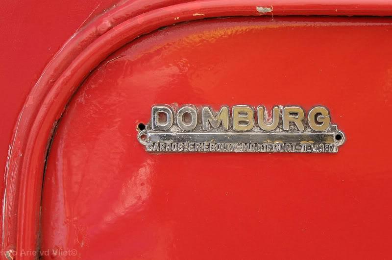 DOMBURG Carrosseriebouw Montfoort-Tel 387