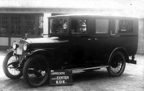 edesche carr. fabr-op onderstel Ford T 1926