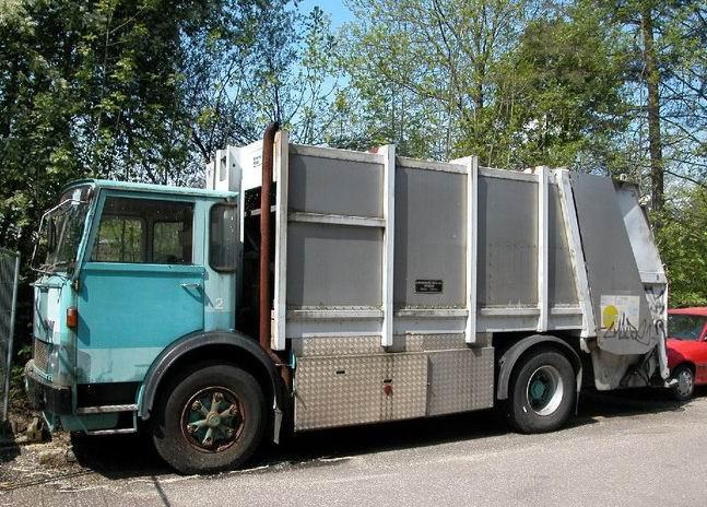 FBW Vuilniswagen