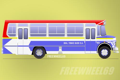 Mercedes Benz LO 1114 - El Diseño - Línea 9 - Interno 55