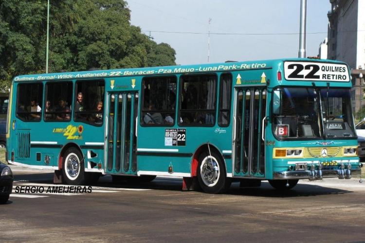Mercedes-Benz OH 1621 L - ALASA - Linea 22