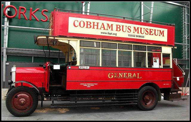 09a General D142 Dennis 4ton 1925 London Bus Museum