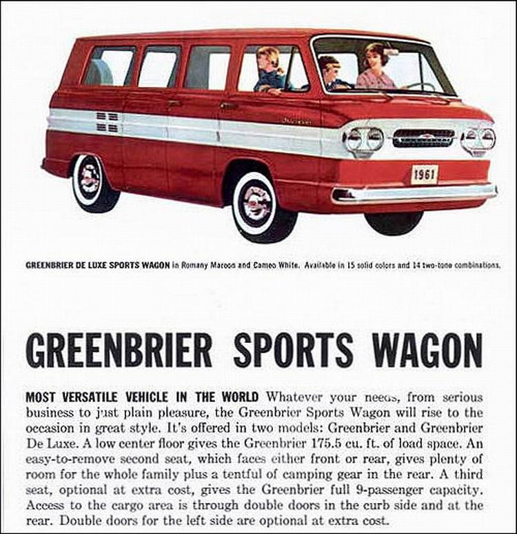 original US car brochure scan