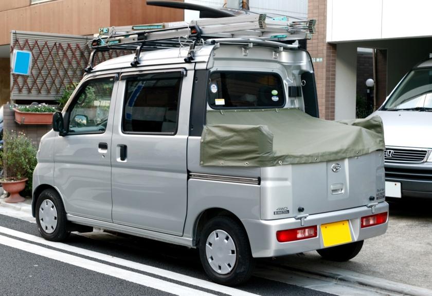 16a Daihatsu Hijet Deck-van