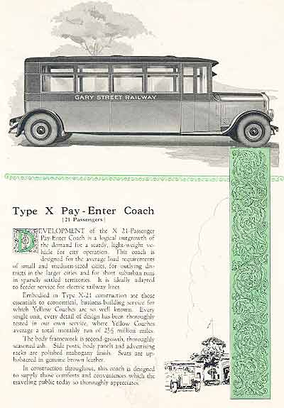 1924 Coach Yellow 2