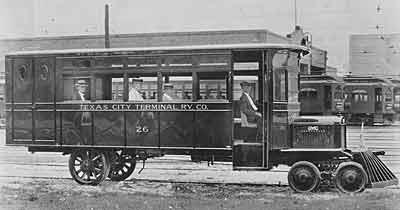 1924 GMC rail bus