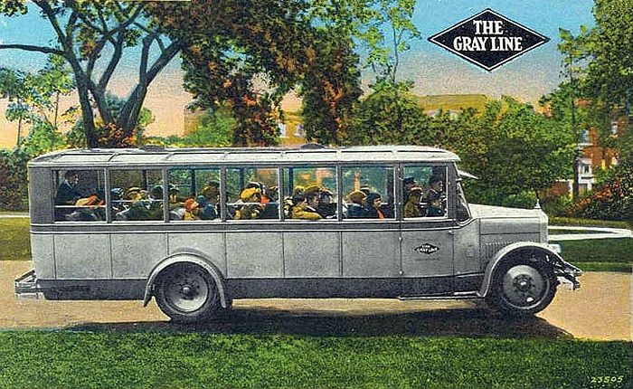 1924 Gray Line Yellow Coach Model Z-29 Bus