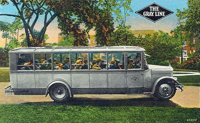 1924 Gray Line Yellow Coach Model Z-29 Bus