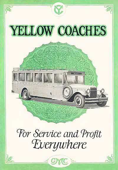 1924 Yellow Coach 1 Ad