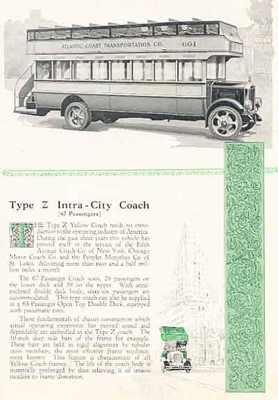 1924 Yellow Coach 5