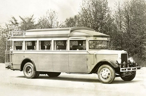 1924 Yellow Coach, modelo Z, No. 1247