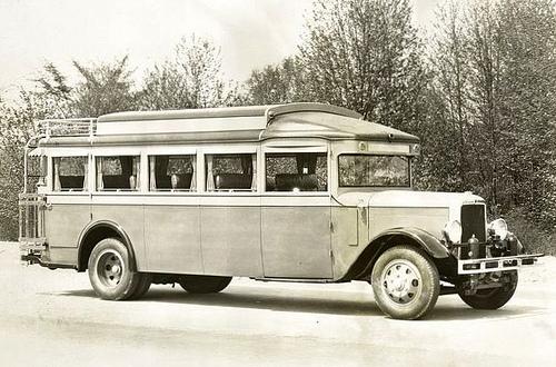 1924 Yellow Coach, modelo Z, No. 1247