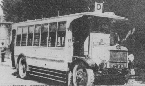 1926 ACLO carrozado por Gnecco para la Cía