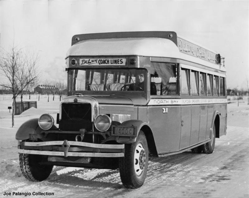 1929 GM 25 passenger bus