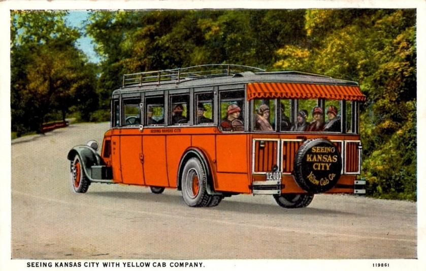 1929 Yellow Cab Co. Bus, Kansas City