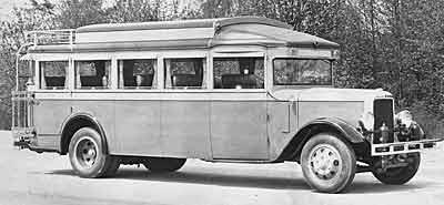 1929 Yellow Coach W 18-21
