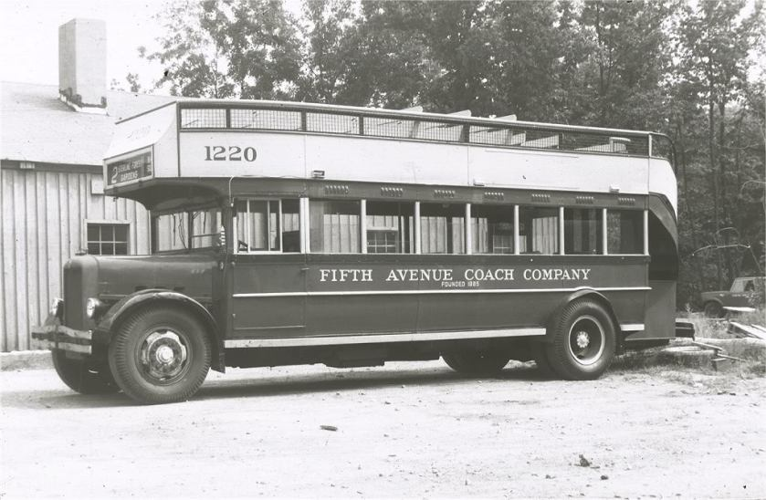 1930 GM Yellow Coach Model Z-BH-602 FIFTHAVENUE12202