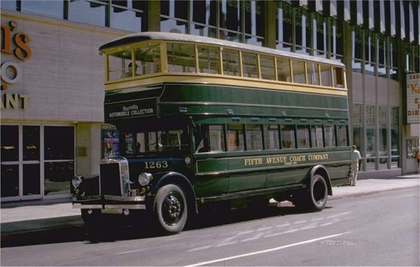 1930 GM Yellow Coach Model Z-BH-602  FIFTHAVENUE1263