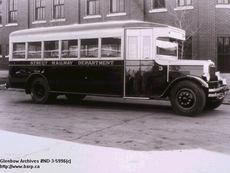 1932 GM transit style coach GMCEDMONTON