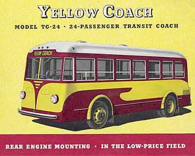 1934 Yellow Coach TG24