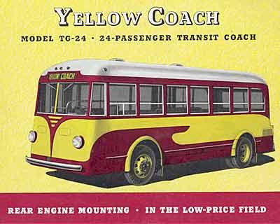 1934 Yellow Coach TG24